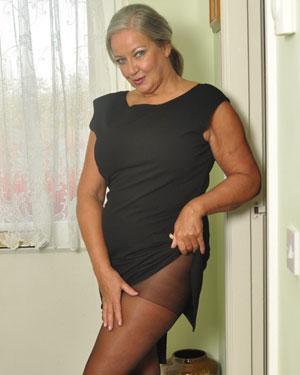 April Thomas pantyhose